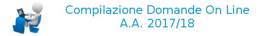 Domande on-line AA 2017/18- On-line application forms AA 2017/18